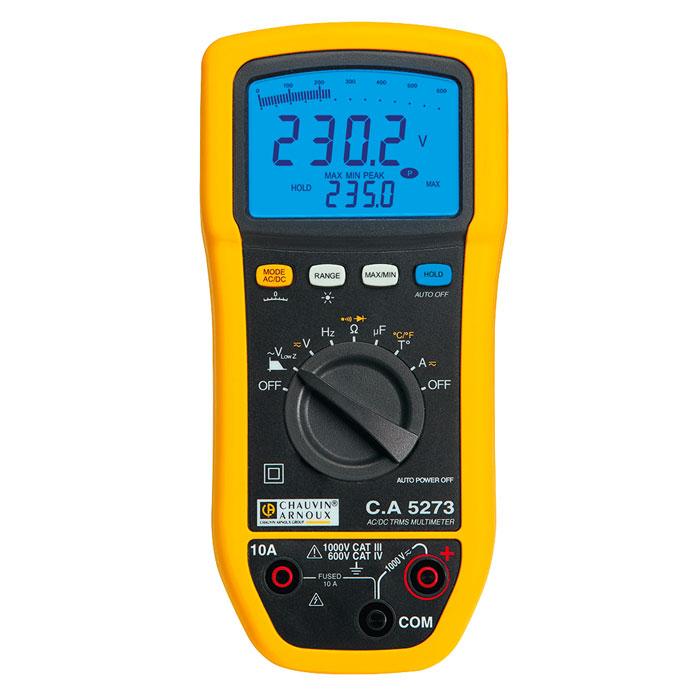 Chauvin Arnoux CA5273 True RMS Digital Multimeter
