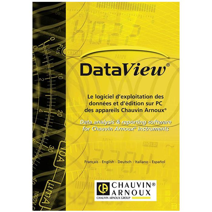 Chauvin Arnoux DataView Software