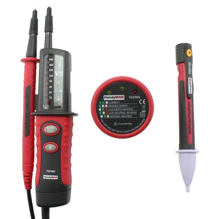 VTEK900 Electricians Kit (FREE GIFT)