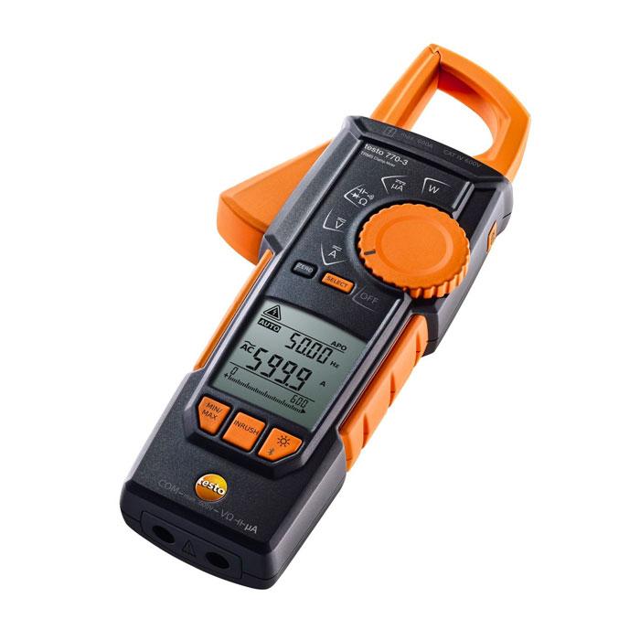 Testo 770-3 Bluetooth True RMS Clamp Meter