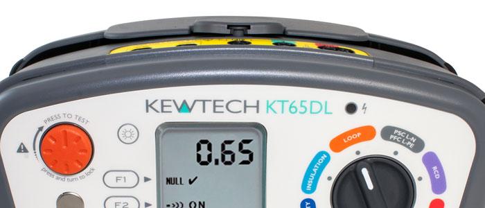 Kewtech KT65DL Multifunction Tester Review & Test