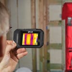 Using Thermal Imaging with the Blower Door Method for Airtightness