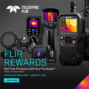 Teledyne FLIR Rewards: Get Free Gifts With Your Purchase