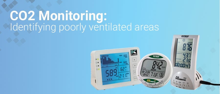 CO2 Monitoring: Identifying poorly ventilated areas