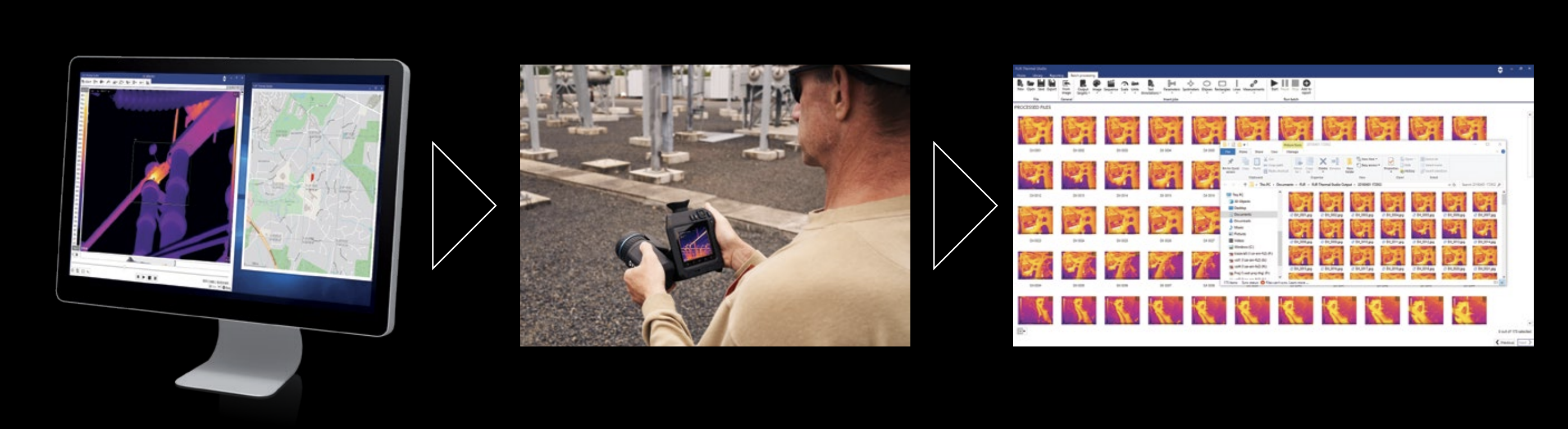 FLIR Route Creator In Use