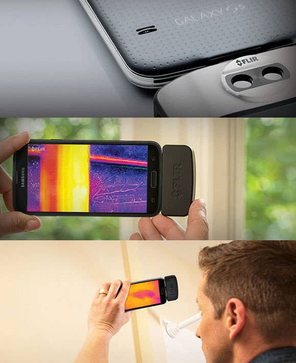 FLIR ONE In Use