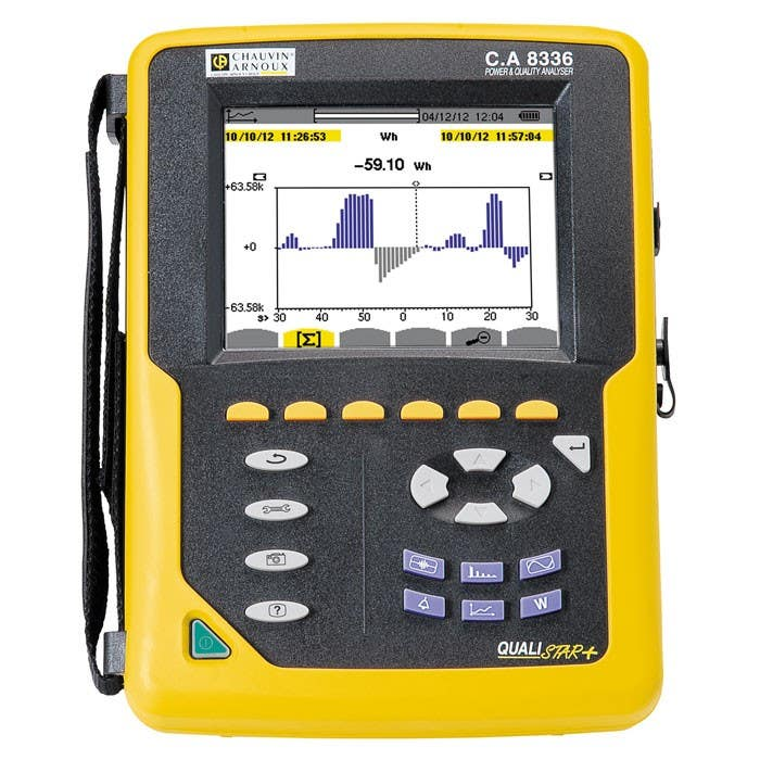 Chauvin Arnoux CA8336 Qualistar+ Power Quality Analyser Hire