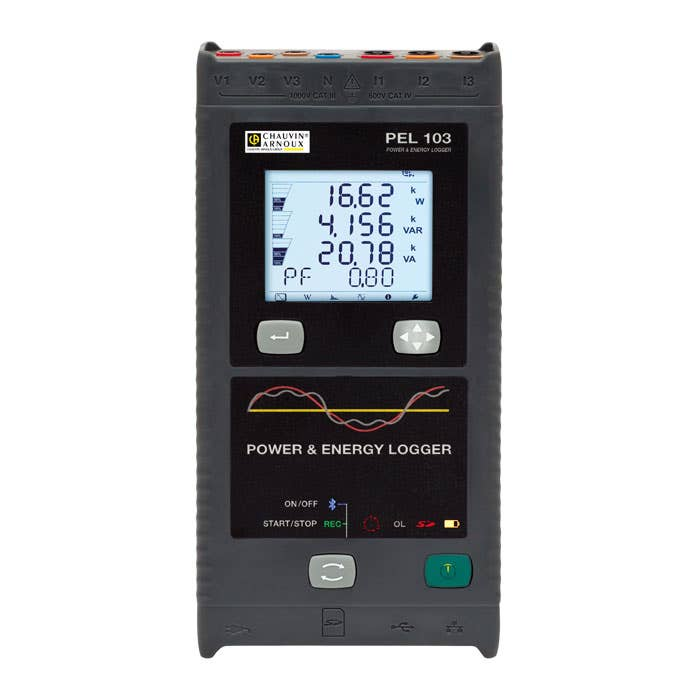 Chauvin Arnoux PEL103 Power Energy Logger Hire