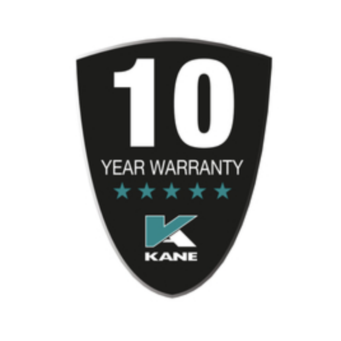 Kane 458s 10 Year Warranty