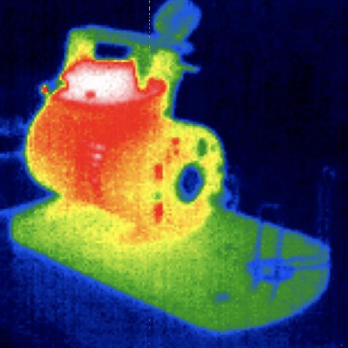 SeekFusion Thermal Image